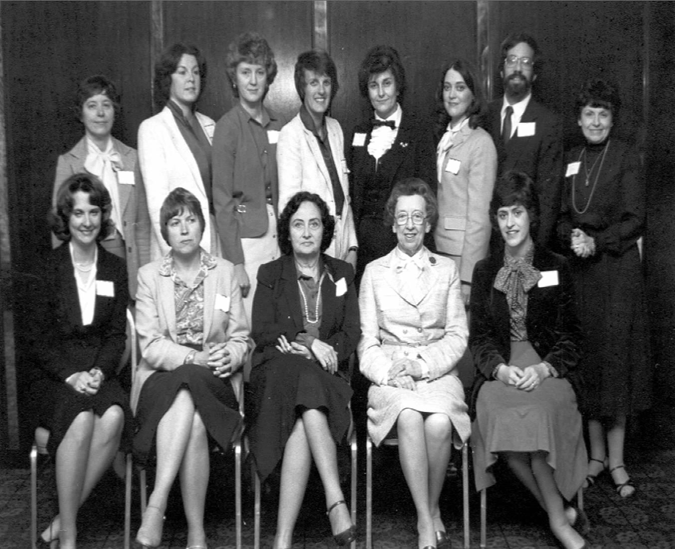 1982 Conference Attendees